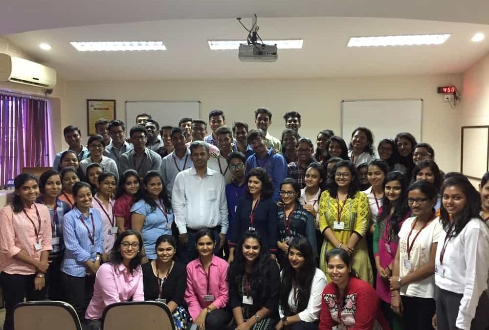 Zero to One Crore workshop @ IES Management College & Research Centre, Mumbai